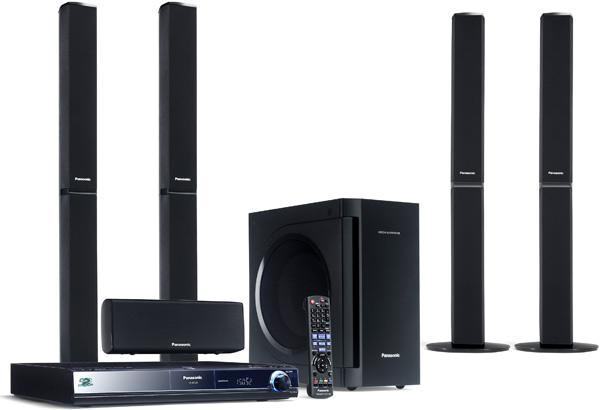 Large image of Panasonic SC-BT205 Blu-ray Home Cinema System