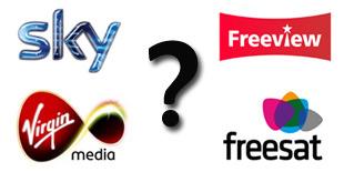 Freeview, Freesat, Sky or Virgin Media