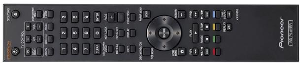 Pioneer BDP-120 Remote Control