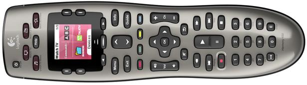 Large Image of Logitech Harmony 650