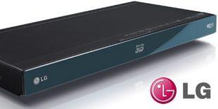 LG BX580 3D Blu-ray Player