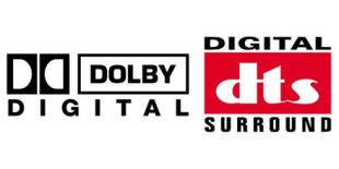 Dolby Digital and DTS Logos