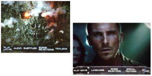 DVD and Blu-ray Menu Screens