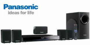 Panasonic SC-PT480 DVD Home Cinema System