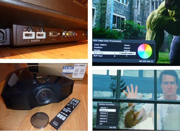 Sony VPL-HW20 Projector