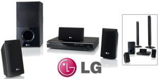 LG HT805PH DVD Home Cinema System
