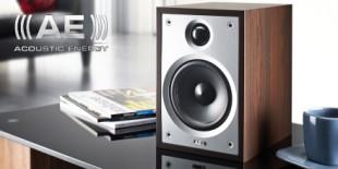 Image of an Acoustic Energy Compact Neo 6.1 speaker in situ