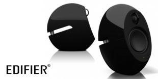 Edifier Luna Edifier Luna Eclipse speakers - side on view