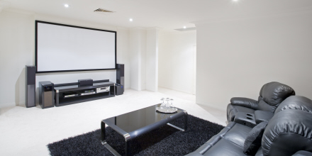 Image of a successful home cinema project