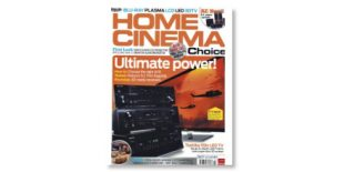 Front cover of Home Cinema Choice magazine