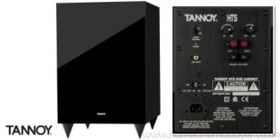 Image of the Tannoy HTS-101 Subwoofer and rear control panel