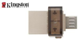 Kingtson DataTraveler microDuo with cover over