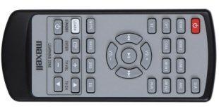 Maxell MXSP-SB3000 Remote Control