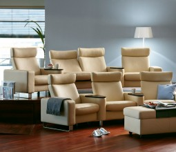Stressless Space Home Cinema Seating